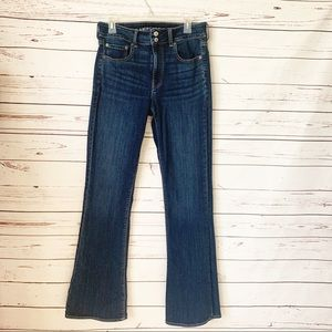 AEO High Rise Flare Jeans-12L *runs small*